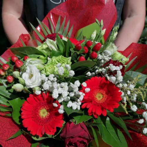 BOUQUET DU FLEURISTE ROUGE 3